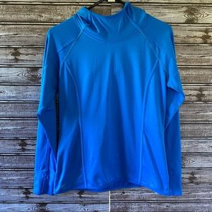 Athleta Long-Sleeved Hooded Top Size S
